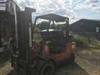 Record forklift diesel 4cylinder spares or repairs