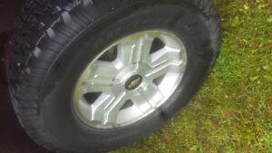"""18"""" z71 wheels and 33 BFG AT"""