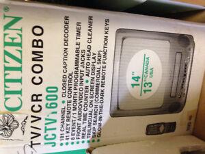"14"" TV/VCR Combo"
