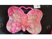Sparkle & Glitz Butterfly Bead, Jewellery Craft Kit