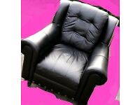 Leather Chairs x 2 with a sofa .delivery available