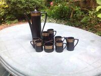 Portmerion Coffee Set.