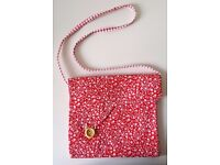 [Handmade] Children's Bag 'Red White Floral Print' 2 DESIGNS AVAILABLE