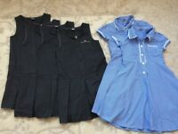 Grey School Dresses Age 7