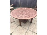 Homebase Almeria garden table