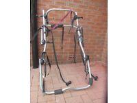 Halfords bike rack for hatch back car