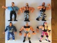 Wwf / Wwe Hasbro Wrestling Figures Lot 3