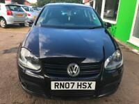 2007 Volkswagen Golf 2.0TDI GT- 3 Former Keepers - 5 Service Stamps
