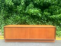 Vintage G Plan Danish style teak sideboard / TV cabinet / Media unit. Delivery. Modern / Midcentury