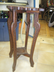 Ornate Plant Stand