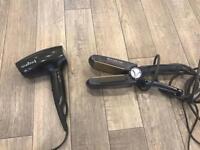 Remington hairdryer and straightener