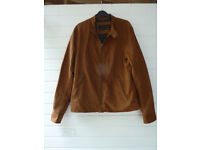 Suede jacket - Brown, Medium