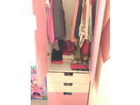 Girl's Wardrobe from IKEA - Solid and Excellent Condition