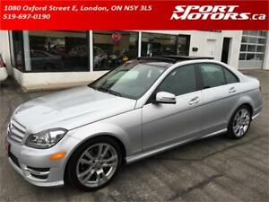 2013 Mercedes-Benz C350 4MATIC! NAVI! Sensors! Camera! Xenons!