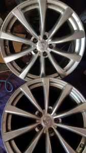 "Used Infiniti 19"" G37 Coupe Convertible Rear rims"