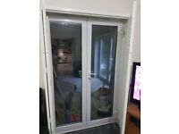 Patio doors and Blinds/Shutter