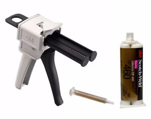 EPX Applicator with Scotch-Weld DP460 + 1 mixing nozzle