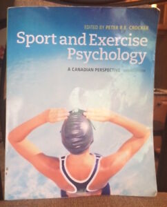 KIN 115 - Sport and Exercise Psychology.  A Canadian Perspective