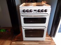 NEWHOME ELECTRIC COOKER 55 CM DOUBLE OVEN
