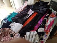 Job-Lot clothes mix sizes .ideal for boot-sale