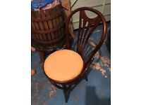 Bentwood brown chairs good condition 21 available!