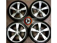 """19"""" Audi TTRS Rotor alloys good condition, excellent matching tyres."""