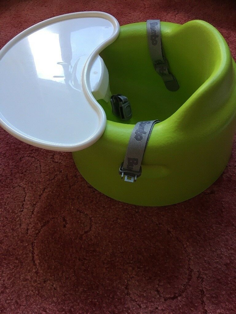 Bumbo seatin Larne, County AntrimGumtree - Bumbo seat with straps and tray in excellent condition. The Bumbo makes sitting up straight a doddle for your little one, allowing them to engage with their surroundings, develop excellent posture and play with their toys using the slip on Play Tray