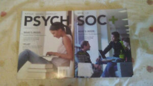 Sociology and Psychology Textbooks