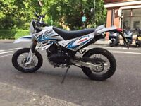 Sinnis Apache 125 SuperMoto - Super Low Mileage - Learner - Runs like a champ