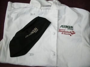 Algonquin College Bakery/Hospitality Uniform Tops for sale