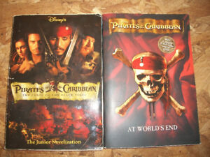 Pirates of the Caribbean Novelizations