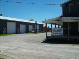 Outdoor and 1600 sq ft storage or work shop