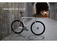 Special Offer GOKU CYCLES Steel Frame Single speed road bike TRACK bike fixed gear BIKE 6t4