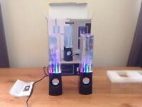 Water Speakers - Boxed & Barely Used