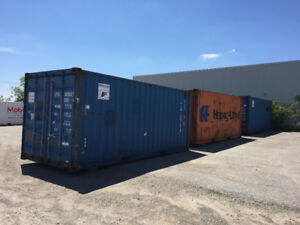 USED 20ft SHIPPING CONTAINERS IN KITCHENER
