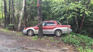 2003 Subaru Baja runs and drives great 5speed