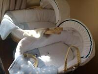 Moses Baskets with stands ( 2 for £25)