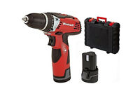 Einhell TE-CD 12 Li 12 V Lithium Cordless Drill with 2 Batteries