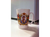 Vintage 1937 King Edward VIII Coronation Mug
