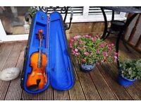 4/4 Violin with Case