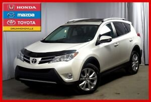 2013 Toyota RAV4 Limited/AWD/GAR.PROLONGÉE