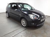 2008 FORD FIESTA 1.6 ZETEC S BLACK,HALF LEATHER,CLEAN CAR,GREAT VALUE