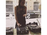 Female DJ for Hire for all occasions- 80's, 90's, House, Classics