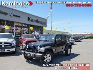 2015 Jeep Wrangler Unlimited Sport  - Cruise Control -  Removabl