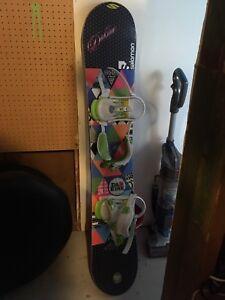 Gnu women's snowboard 148
