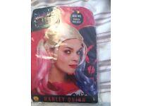 Halloween Harley Quinn Wig