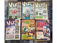 Large collection of vintage Viz magazine