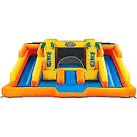 Water park bouncy house