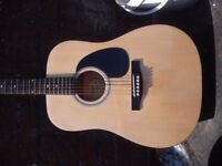Fender Squeir Acoustic Guitar with Case