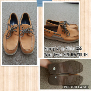 Tan Sperry's Top Slider 10/10 Condition!